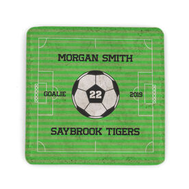 Soccer Stone Coaster - Personalized Team