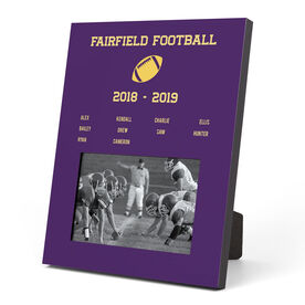 Football Photo Frame - Team Roster