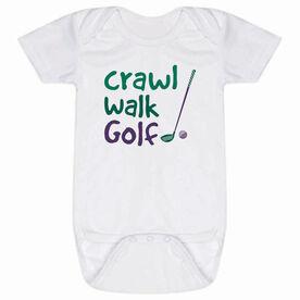 Golf Baby One-Piece - Crawl Walk Golf