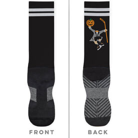 Hockey Printed Mid-Calf Socks - Headless Hockey