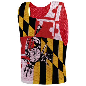 Guys Lacrosse Pinnie - Maryland