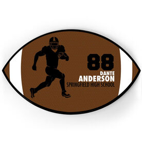 Football Plaque - Running Back With Text