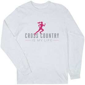 Cross Country Youth T-Shirt Long Sleeve My Life (Female)