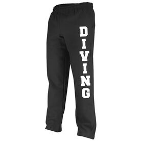 Swimming Fleece Sweatpants Diving