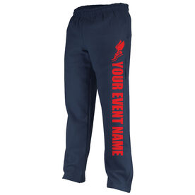 Track and Field Fleece Sweatpants Your Event Name