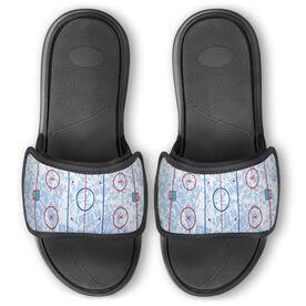 Hockey Repwell™ Slide Sandals - Ice Rink