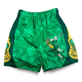 Lucky Laxer Lacrosse Shorts [Youth Large] - SS
