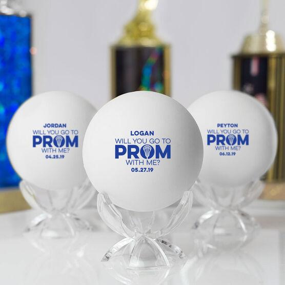 Guys Lacrosse Ball - Promposal