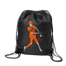 Baseball Sport Pack Cinch Sack - Home Run Zombie