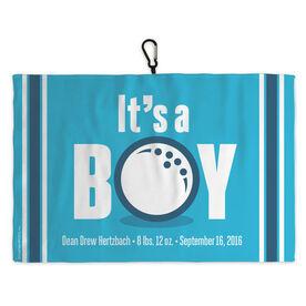 Golf Bag Towel Its A Boy