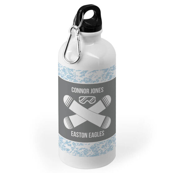 Snowboarding 20 oz. Stainless Steel Water Bottle - Snowboarding Team