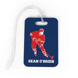 Hockey Bag/Luggage Tag - Personalized Hockey Player