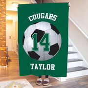 Soccer Premium Blanket - Personalized Team