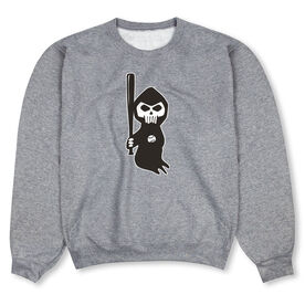 Baseball Crew Neck Sweatshirt - Baseball Reaper