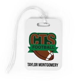 Football Bag/Luggage Tag - Custom Logo