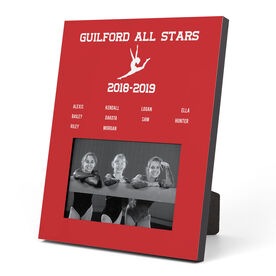 Gymnastics Photo Frame - Team Roster