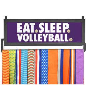 AthletesWALL Medal Display - Eat Sleep Volleyball