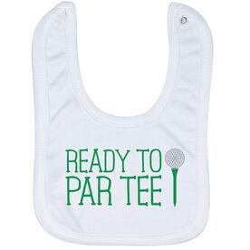 Golf Baby Bib - Ready To Par Tee