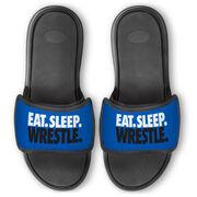 Wrestling Repwell® Slide Sandals - Eat Sleep Wrestle