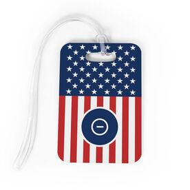 Wrestling Bag/Luggage Tag - USA Wrestling