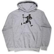 Guys Lacrosse Hooded Sweatshirt - Lax Player