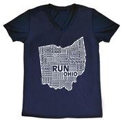 Women's Running Short Sleeve Tech Tee Ohio State Runner