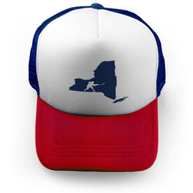 Hockey Trucker Hat State NY