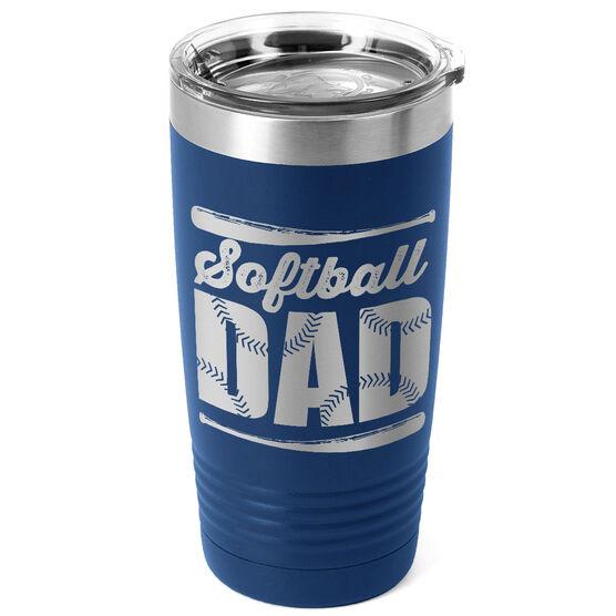 Softball 20 oz. Double Insulated Tumbler - Dad