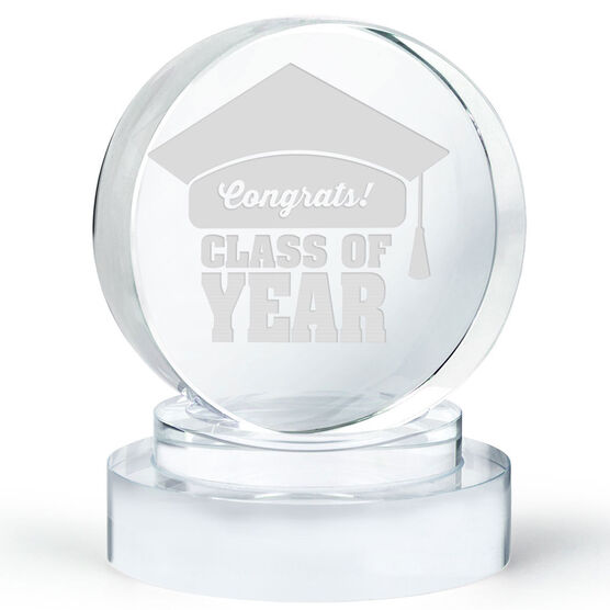 Personalized Engraved Crystal Gift - Graduation