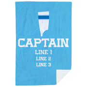 Crew Premium Blanket - Personalized Captain