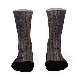 Fly Fishing Printed Mid Calf Socks Striper