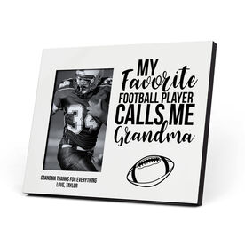 Football Photo Frame - Grandma's Favorite Player