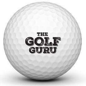 Golf Guru Golf Ball