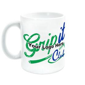 Golf Coffee Mug Custom Logo
