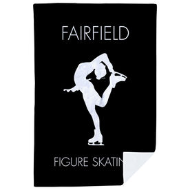 Figure Skating Premium Blanket - Personalized Team Name
