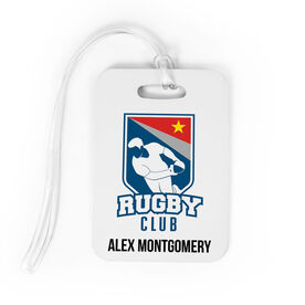 Rugby Bag/Luggage Tag - Custom Logo