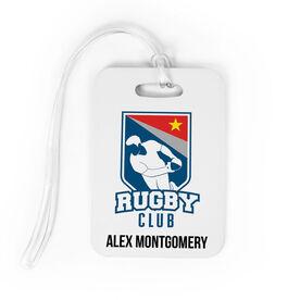 Rugby Bag/Luggage Tag - Custom Logo