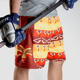 Turkey Player Hockey Shorts