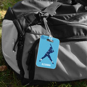 Softball Bag/Luggage Tag - Personalized Softball Batter