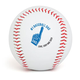 Custom Baseball #1 Baseball Dad