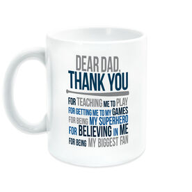 Baseball Coffee Mug - Dear Dad