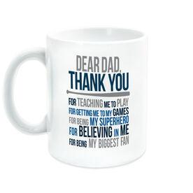 Baseball Coffee Mug - Dear Dad