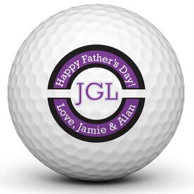 #1 Dad Trophy Golf Ball