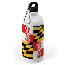 Guys Lacrosse 20 oz. Stainless Steel Water Bottle - Maryland