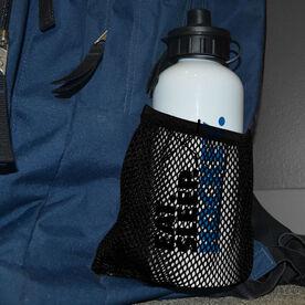 Hockey 20 oz. Stainless Steel Water Bottle - Eat. Sleep. Hockey.