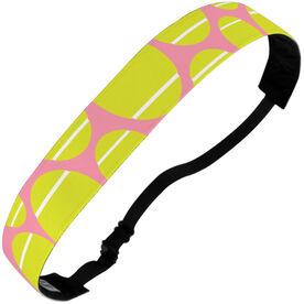 Tennis Julibands No-Slip Headbands - Tossed Ball Pattern