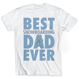 Snowboarding Vintage T-Shirt - Best Dad Ever