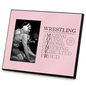 Wrestling Photo Frame - Mother Words
