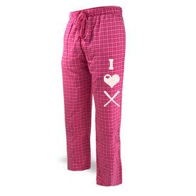 Softball Lounge Pants I Heart Softball