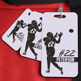 Football Bag/Luggage Tag Personalized Name And Number